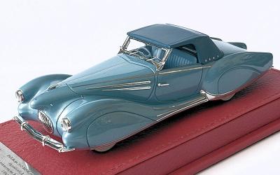 EVR228 Delahaye 135 M Figoni et Falaschi Narval 1947 sn 800516 bleue