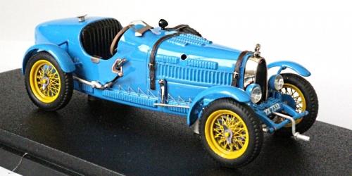 EVR005 Bugatti T37 sn 37298 route bleue signé et authentifié à 30 ex.