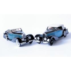 EVR221 Bugatti T57 Stelvio 1/43 cabriolet sn 57406 1936 Jacques Dufilho version restaurée